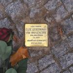 Uno Stolperstein collocato a Berlino